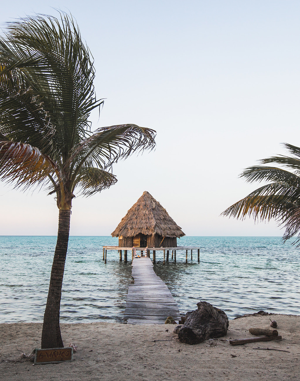Floating cabins on a backpackers island 2km off the coast of Belize There was no electricity in the cabin, just candles and the seaside. You bring your own food to stay or buy from the local fisherman that go out everyday. The backpacker island is...