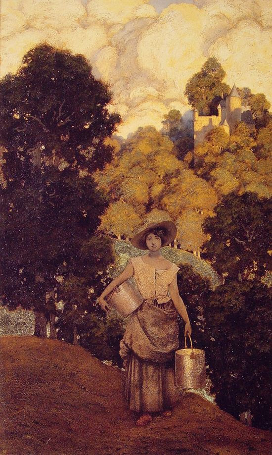 Maxfield Parrish, Milkmaid