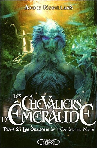 Couverture Les Chevaliers d'Émeraude, tome 02 : Les Dragons de l'Empereur Noir
