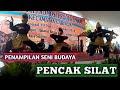 Penampilan Pencak Silat dari Lingkung Seni di Kecamatan Caringin Kabupaten Bogor