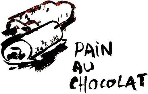 Dessin De Pain Au Chocolat