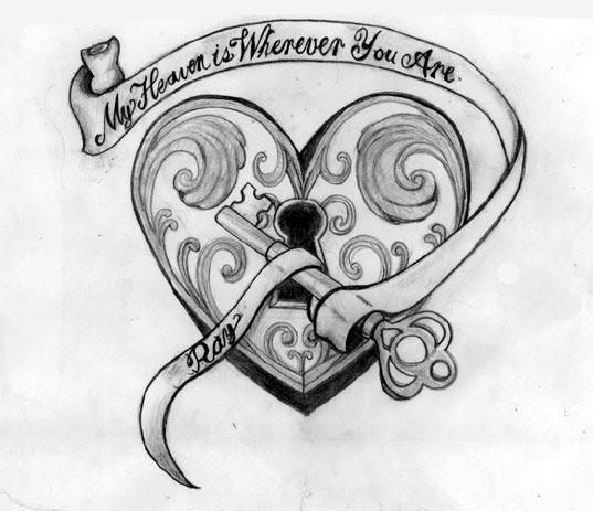 Heart Tattoo Designs Gallery 23