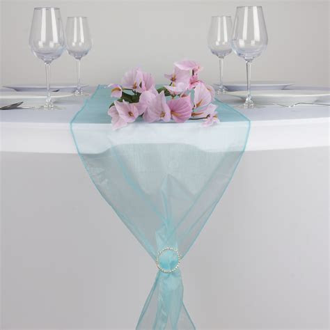 organza table top runners wedding party dinner
