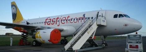 fastjet new routes to Kigali, Lusaka, Johannesburg