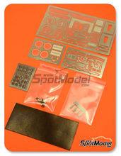 Fotograbados 1/24 Hobby Design - Nissan GT-R R35   - para usar con kit de Tamiya TAM24300