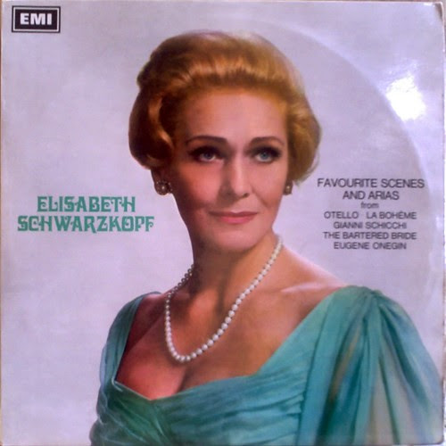 UK EMI SAX5286 - ELISABETH SCHWARZKOPF - FAVOURITE SCENES AND ARIAS