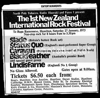 Te Rapa ad large, Hamilton Times Tuesday 23rd January 1973