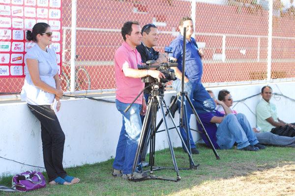 A imprensa foi proibida de registrar imagens do treinamento do América realizado em Goianinha