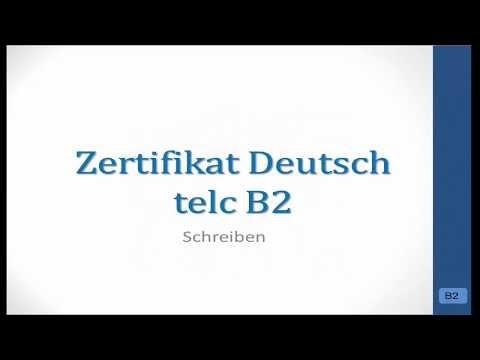 Deutsch Global Bewerbung Praktikumhospitation Telc B2