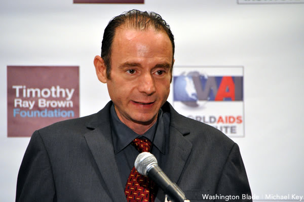 Timothy Ray Brown the Berlin Patient, HIV, AIDS, Washington Blade photo by Michael Key