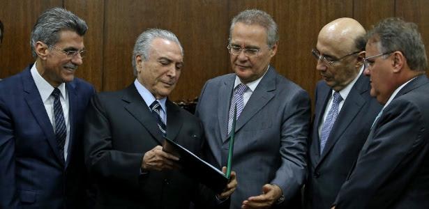 Jucá, Temer, Renan e Geddel foram citados por Claudio Melo Filho em delação da Lava Jato