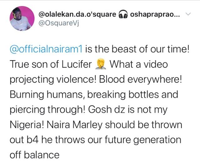 Naira Marley Blasts Twitter User Who Tagged Him As Lucifer
