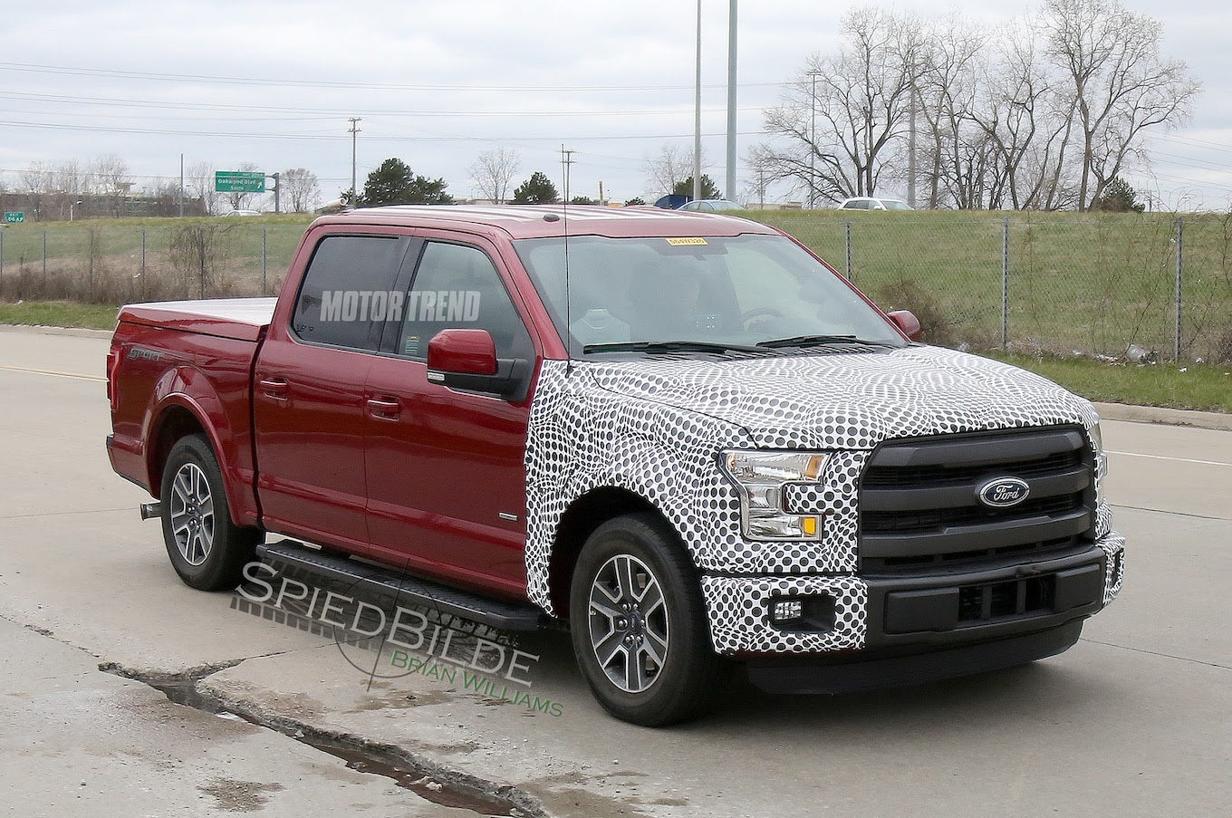 Spied: Ford F-150 Hybrid Prototype Tests on Public Roads ...
