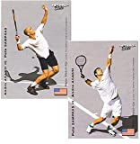 NETPRO Agassi v Sampras Major Match Up Card--