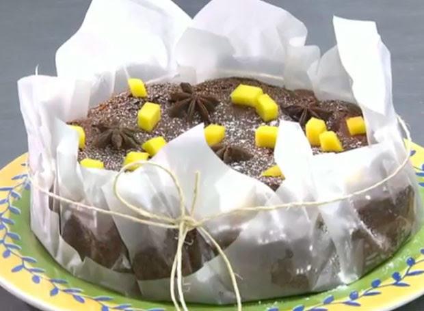 Que bolo delicioso! (Foto: Reprodução/RPC)