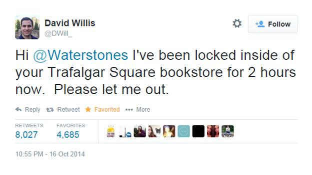 David Willis's tweet
