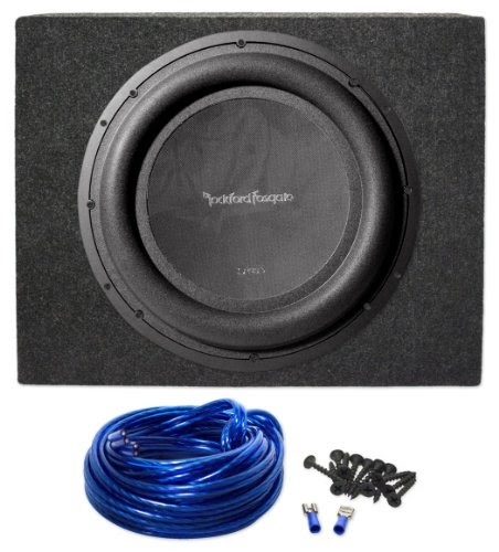 package rockford fosgate p3sd412 12 quot punch p3 dual 4 ohm voice coil shallow subwoofer with 800