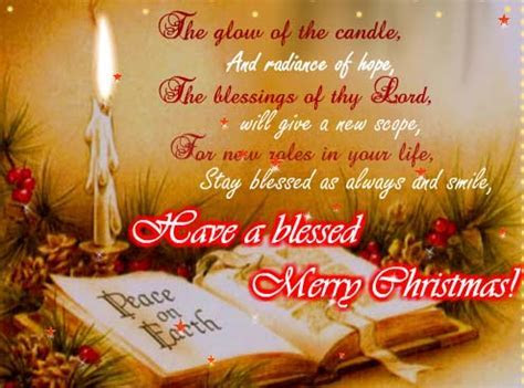 Stay Blessed As Always On Christmas. Free English eCards