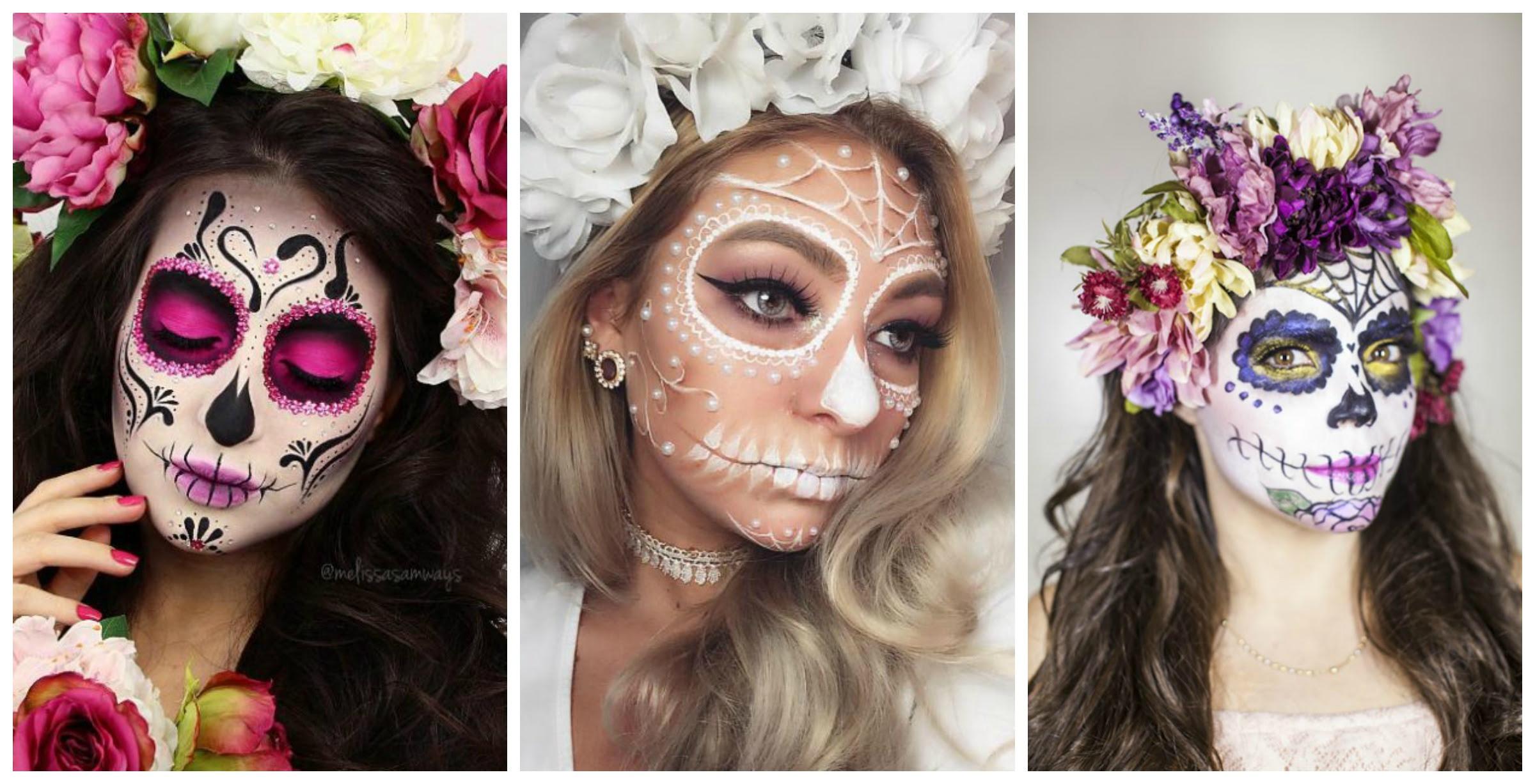 15 Sugar Skull Makeup Ideas For Día De Los Muertos Fashionsycom