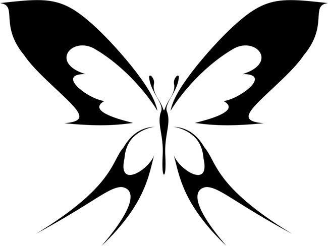 Butterfly Stencil Templates Free | Prepare for Adventure...