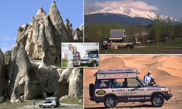 Peter and Eileen Crichton have travelled the world in their Land Rover