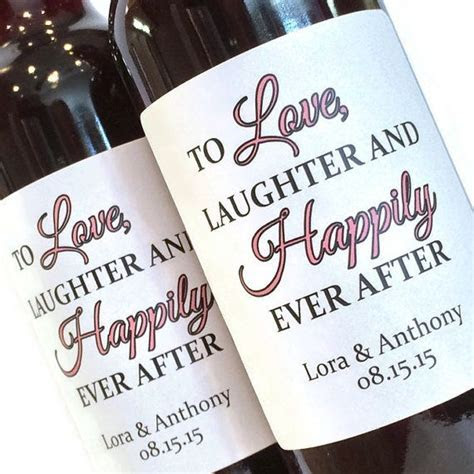 25  best ideas about Wedding wine labels on Pinterest