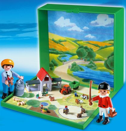 Micro Playmobil Farm
