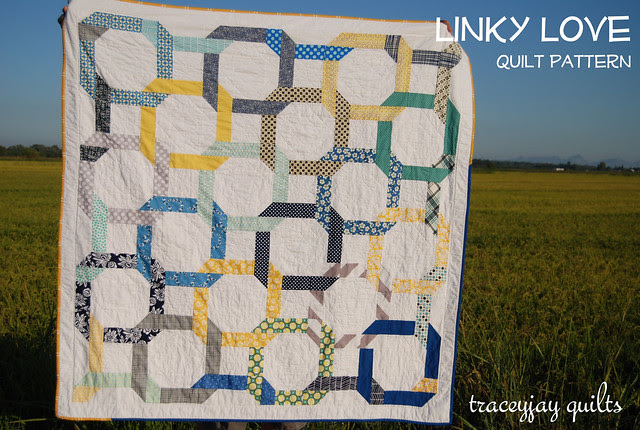 Linky Love in blue/yellow