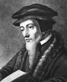 João Calvino.  Cortesia da Biblioteca do Congresso.