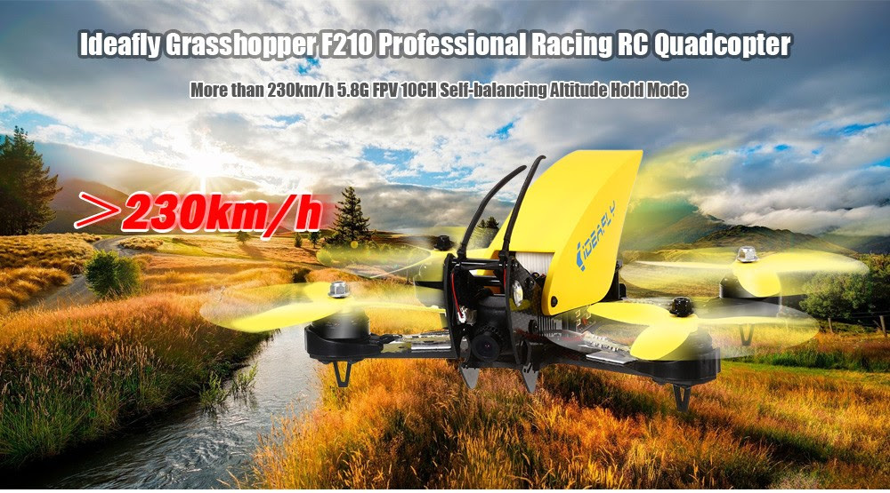 Ideafly Grasshopper F210 Racing Quadcopter Drone