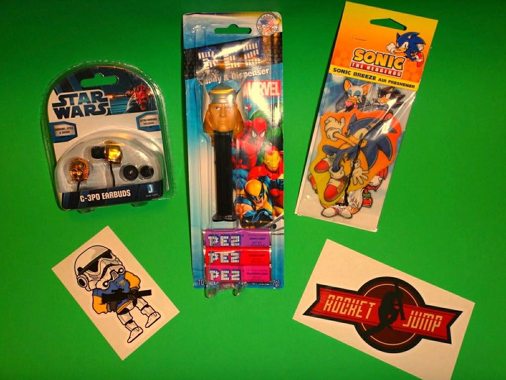 Loot Crate July 2013 Varsity Video Game High School