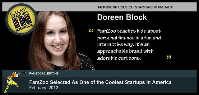 February 2012: FamZoo Selected As One of the Coolest Startups in America