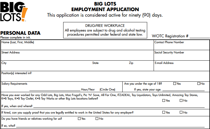 Walmart application only no job careers subway application for Form 2159