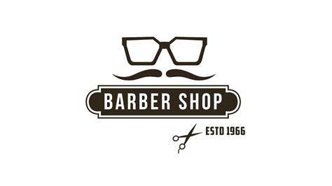 illustrator tutorial vintage logo design barber