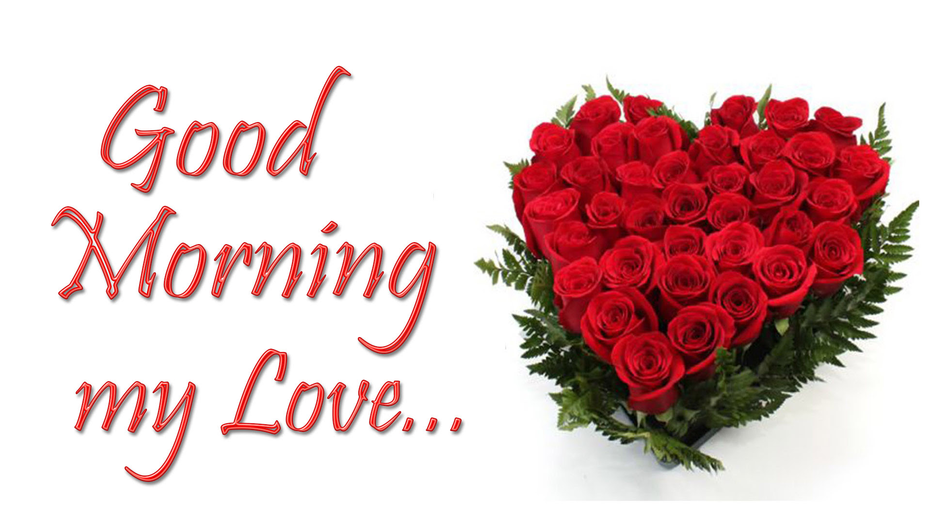 Good Morning My Love Hd Images Pictures 2018 Free Download