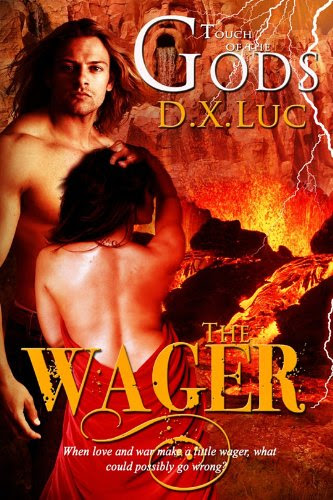 The Wager- BBW Erotic Curvy Greek Gods Romance (TOUCH OF THE GODS) by D.X. Luc