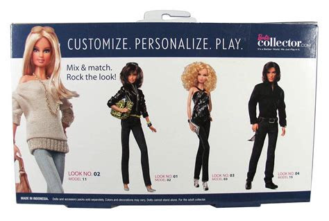 BARBIE BASICS Accessory Pack Look Collection No 2 02 002 2