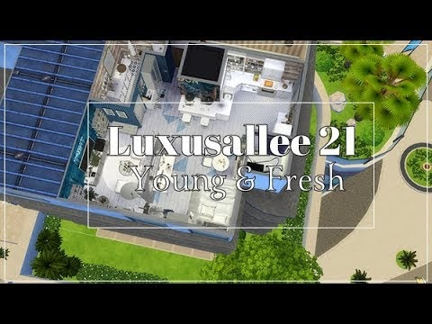 SIMS 4 || APARTMENT TOUR || LUXUSALLEE 21- YOUNG & FRESH [DOWNLOAD incl.CC]