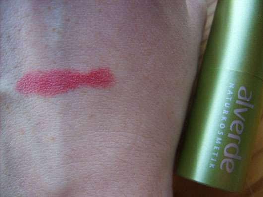 alverde Lippenstift, Farbe: 27 Dusty Pink