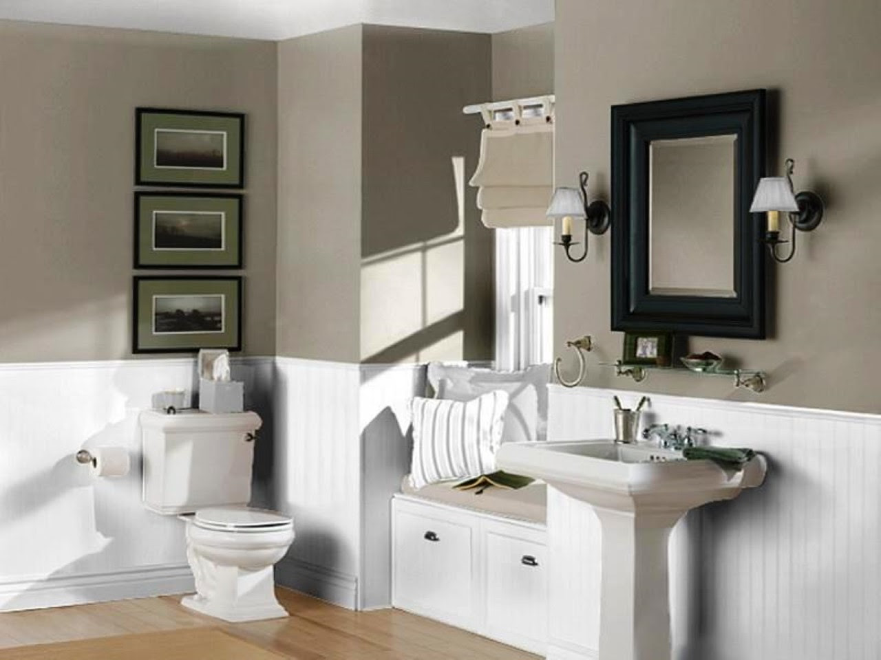 Perfect Bathroom Color Trend for 2016 - HomesFeed