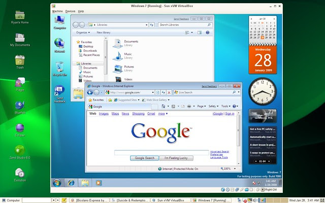 windows 7, apps, Microsoft