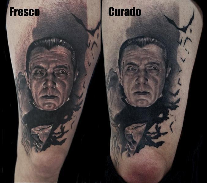 Conde Dracula Curado Tatuajes Online