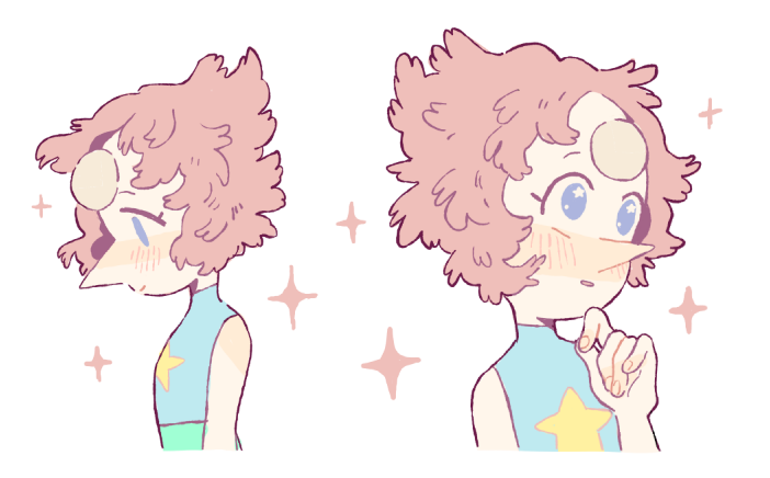 imagine pearl but…..fluffier……..