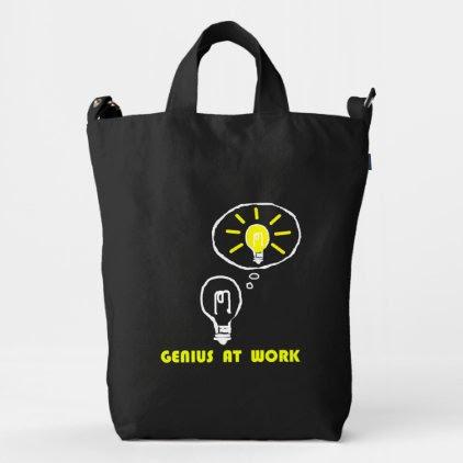 Genius at work duck bag
