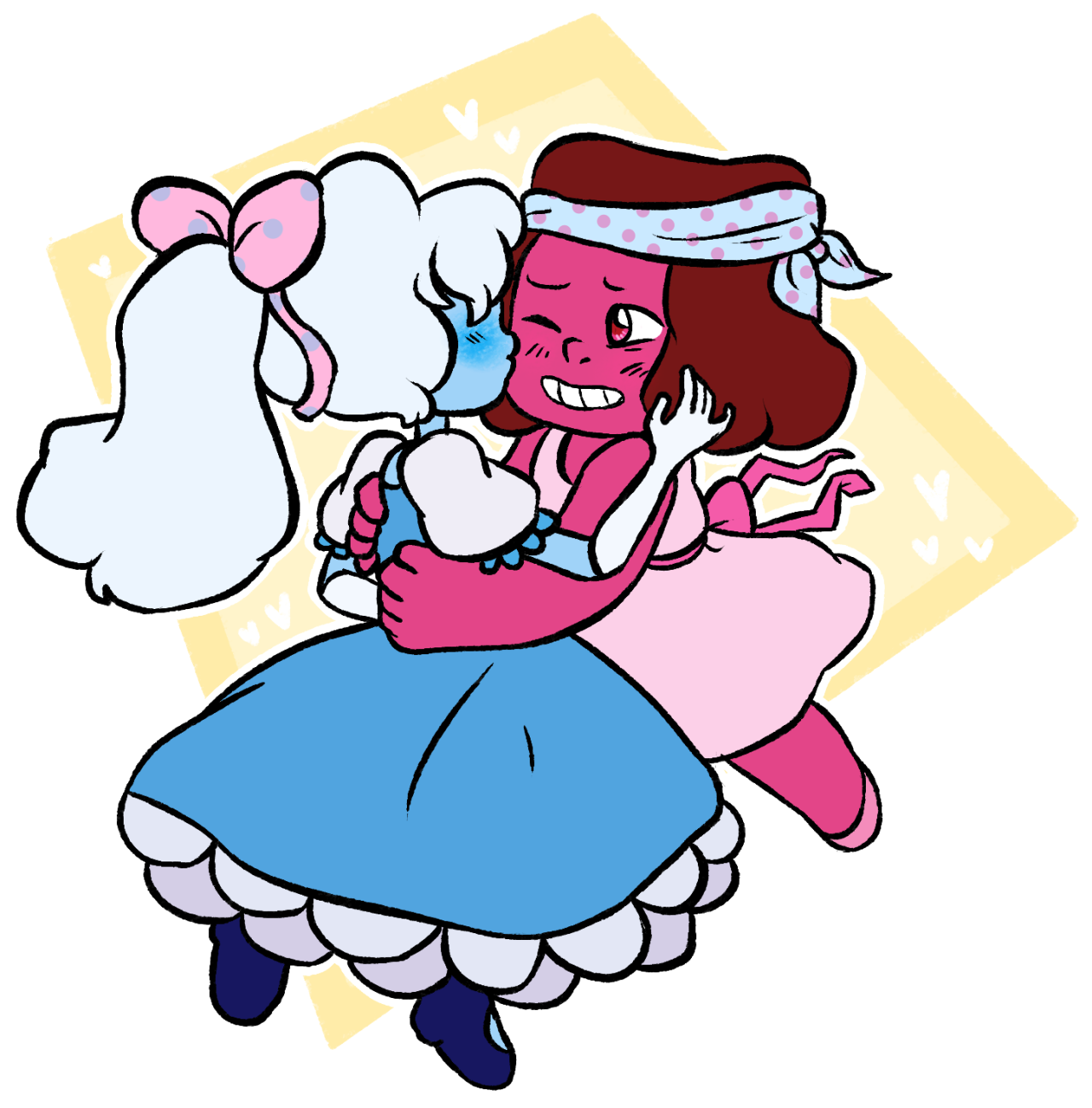 lil' gfs! take a look at my webcomic! | my store | my videos | commissions open!