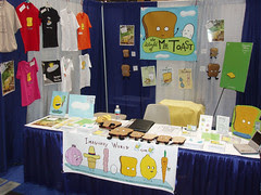 Mr Toast Booth - Comic Con 2006
