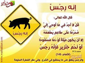 لحم الخنزير - makanan yang diharamkan dalam al-qur'an