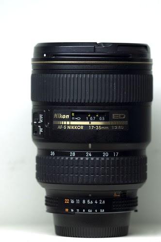 Nikon AF-S Zoom-Nikkor 17-35 f2.8D ED-IF Lens