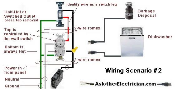 garbage disposal switch wiring diagram image 3
