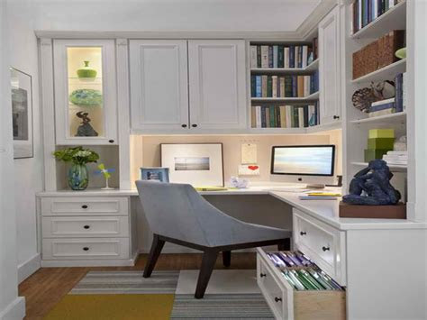 cabinets  small spaces home office design examples